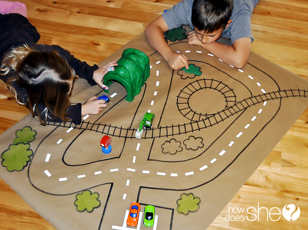 Craft Paper Playmat