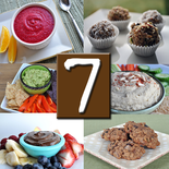 7 healthy snack recipes